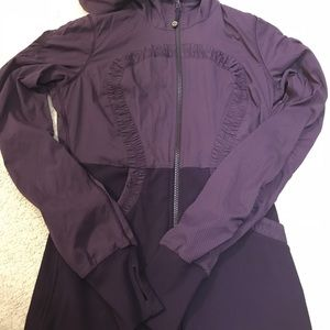Lululemon Purple Dance Studio Reversible Jacket